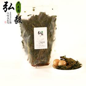 【弘毅六不用生态农场】海盐腌制香椿, 腌香椿芽(500g)陆地栽植