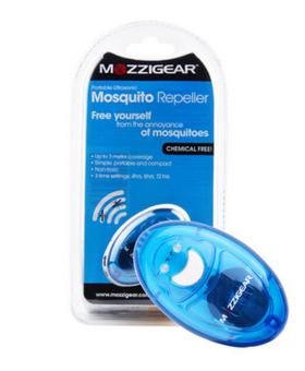 Mozzigear 移动超电子声波驱蚊器