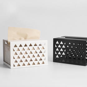 Domain系列铁艺纸巾盒简二家纸巾盒系列