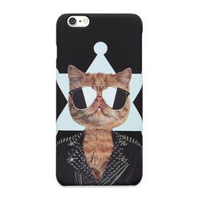 潮猫手机壳系列 朋克猫 iPhone手机壳