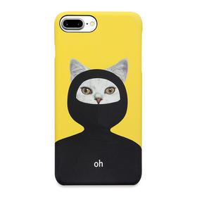 潮猫手机壳系列 忍者猫 iPhone手机壳