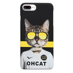 潮猫手机壳系列 足球猫 iPhone手机壳