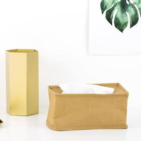 Domain·水洗牛皮纸纸巾盒