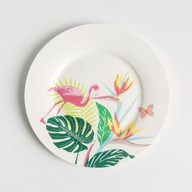 Reiki系列7.5寸火烈鸟款餐盘