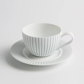 Line·高白玉瓷咖啡杯碟套装