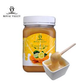 【美白养颜】新西兰蜂蜜 皇家维乐碧(RoyalValley)青柠蜂蜜500g送木勺手拎袋