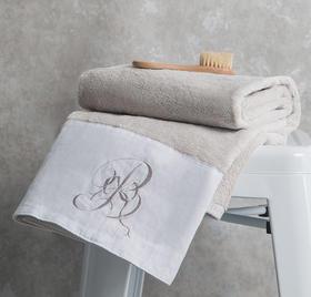 Echo·亚麻拼布毛巾系列