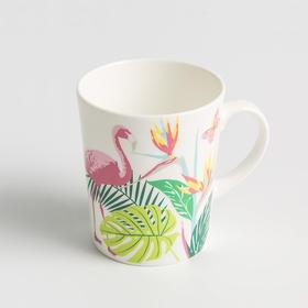 Reiki系列火烈鸟骨瓷马克杯
