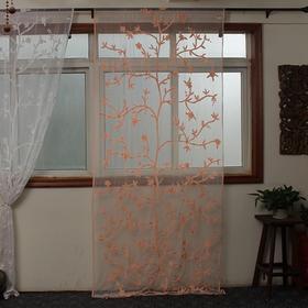 印度手工绣线窗帘