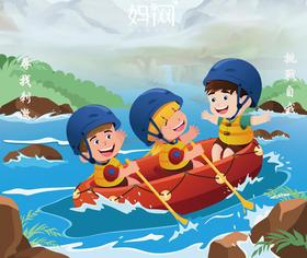 【妈网旅游】之安吉浙北大峡谷漂流亲子游 7/30 更多好玩、更多刺激等你来战!