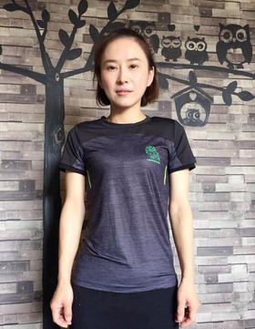 传奇猫头鹰女士短袖运动T恤