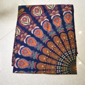 印度曼达拉手板印花布艺