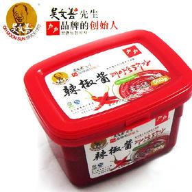 【韩国辣椒酱500g】石锅拌饭辣炒年糕酱甜辣酱辣酱烤肉酱