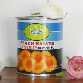 【联盟世佳 糖水黄桃罐头825g】南非特产