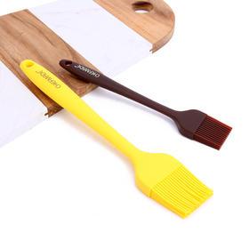学厨一体式硅胶刀 一体式硅胶刷蛋糕黄油刷子耐高温烧烤刷