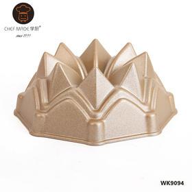 【chefmade学厨4寸迷你中空皇冠模】铸铝材质蛋糕模具WK9094