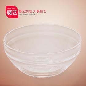 【展艺圆形玻璃分料碗】蔬菜水果甜品沙拉碗调料碗