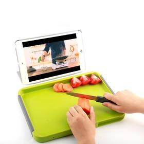 【拥有专利号的水果切板】 可当果盘,双面设计,生熟分开,洁净卫生易清洗