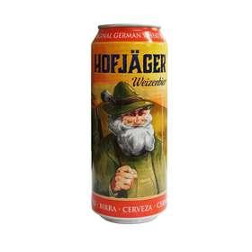 德国进口 豪夫猎人听装啤酒 500ML  德国优质原料