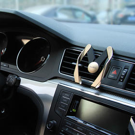 AutoBot二代汽车载导航手机支架、单手操作、不挡视线、超强适配