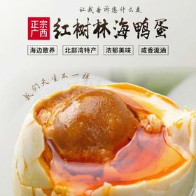 广西北海红树林海鸭蛋咸鸭蛋烤鸭蛋初生蛋20枚50枚包邮