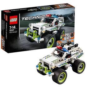 乐高机械组警用拦截车 LEGO TECHNIC 积木玩具趣味