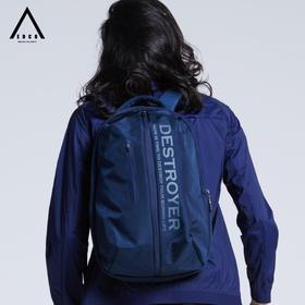 EDCO艾德克 户外25L防水双肩包男女通款电脑包运动包收纳包