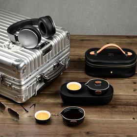 小巨蛋T6轻便型陶瓷功夫整套茶具礼品花茶套装户外便携旅行快客杯