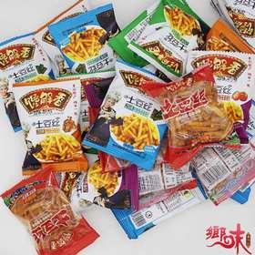 贵州特产开阳土豆丝  混装口味小吃 散装500克
