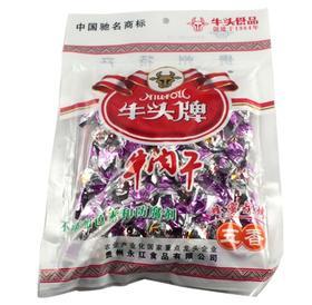 【乡味 贵州站】牛头牌 牛肉干颗粒 五香味开袋即食麻辣味 102克