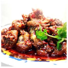 乡味私房菜贵州地道辣子鸡麻辣350克可做火锅