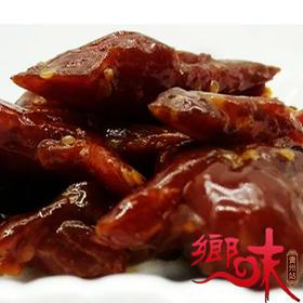 贵州特产自然传奇竹山手撕肉香辣味