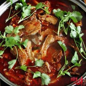 【乡味贵州站】贵州特产羊肉火锅 红汤羊肉火锅 红油麻辣味