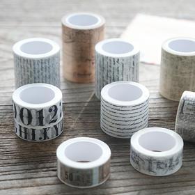 整卷英文字母手帐装饰胶带  文具