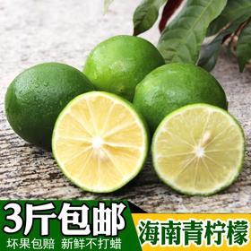 【现摘现发】海南青柠檬 夏日好果品 维C之王 全国包邮