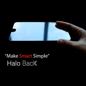 haloback 智能返回键贴膜 钢化玻璃手机屏幕超薄保护贴膜 iphone6/6P/6S/6SP/7/7P 适用