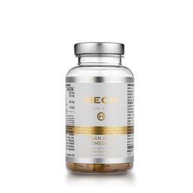 德国赫熙HECH素食藻类OMEGA - 3胶囊60粒/瓶 心脑血管平衡三高