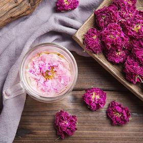 玫瑰花冠王|一整朵玫瑰泡开,宫廷美颜养生法,喝出好气色