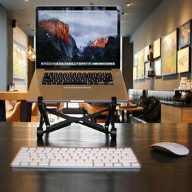 【最走心走腰背的笔记本防护支架】NEXSTAND 笔记本支架 升降 折叠 可手提 便携
