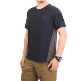 【黑科技面料】速干双色拼接T恤 欧美体型大码福音 正品麦格霍斯