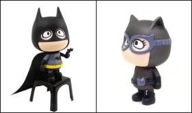 b.wing正义联盟蝙蝠侠+猫女套装(仅1套)