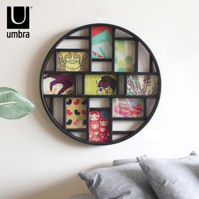 umbra创意组合相框挂墙照片框复古中式背景墙装饰全家福墙饰壁饰