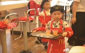 7.23 麦当劳职业体验之小小播音员(可盖社会实践章)