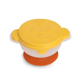 香港品牌DODOPAPA爸爸出去碗 吸盘碗套装 含剪刀勺子 宝宝外出餐具