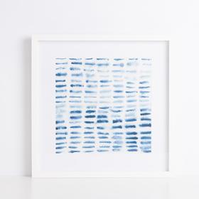Hint系列意象蓝色装饰画