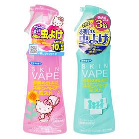 日本原产 VAPE3倍驱蚊液喷雾200ml 天然驱蚊滋润肌肤 婴幼儿可用
