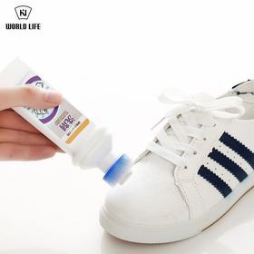 日本进口鞋子干洗剂小白鞋清洁剂运动鞋白鞋边去黄洗鞋擦增白去污