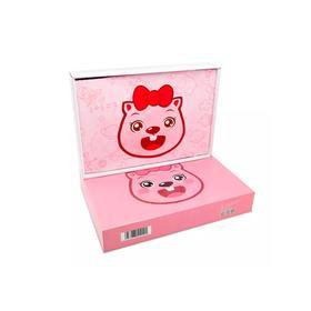 粉色小公主:贝瓦床品三件套