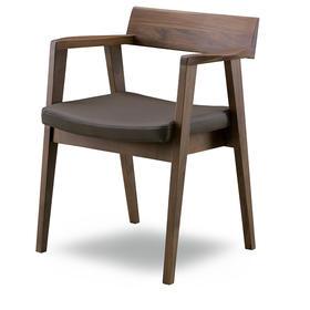 CITY C-100 扶手椅 深褐色