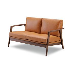 CITY C-125 2P沙发 咖啡色